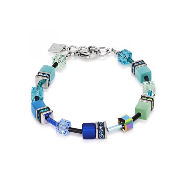 GEOCUBE Blue/Green Bracelet