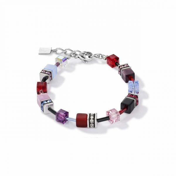 GEOCUBE Blue/Purple/Red Bracelet
