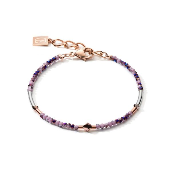 Light Amethyst Rose Gold Bracelet