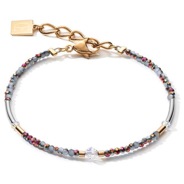 Warm Grey Gold Bracelet