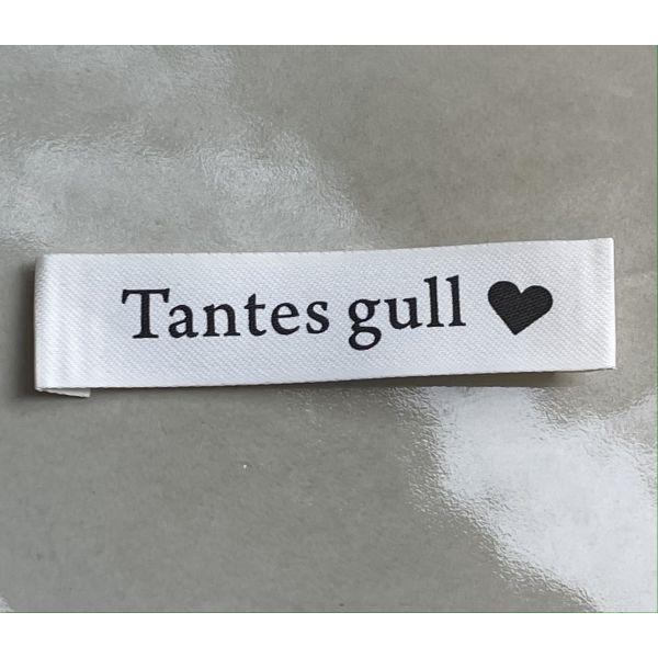 Tantes gull