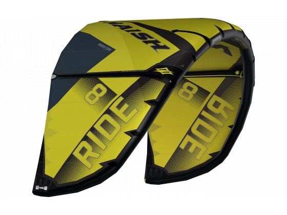 Naish Ride 17/18 (Quad Tex) Gul/svart