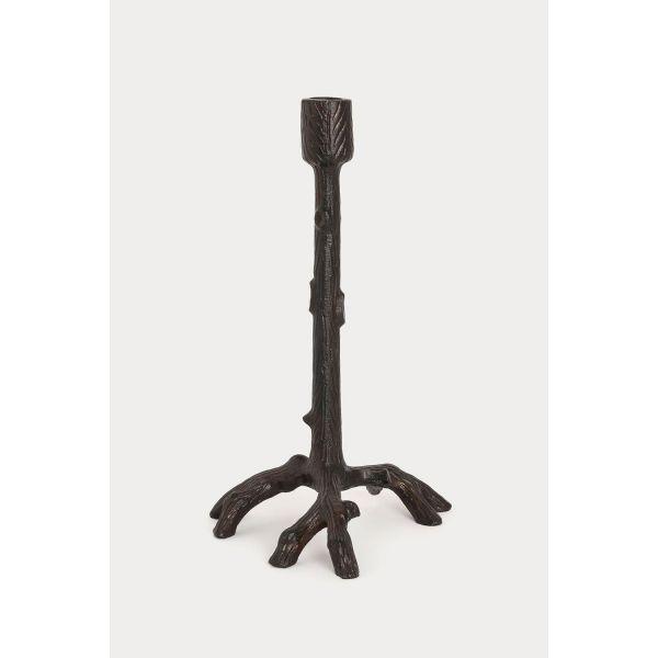 Lysestake «kvist» brunsort