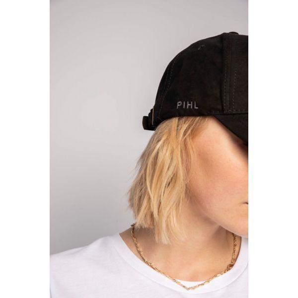 Lily Cap Suede Black