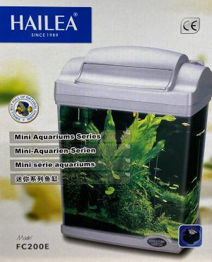 Hailea 6,5l nano SVART