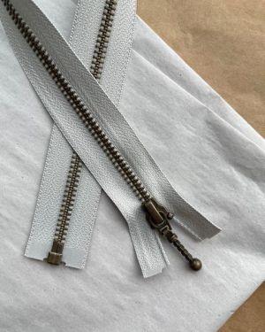 Glidelås til Zipper jacket 45 cm Cement