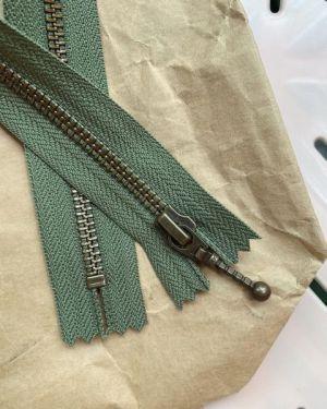 Glidelås til Zipper sweater 35 cm Jægergrøn