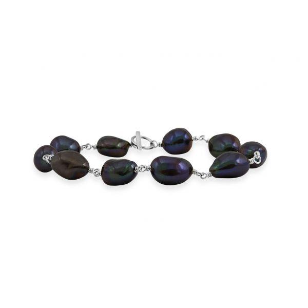 Joy of Gems (Peacock pearl) - Armbånd