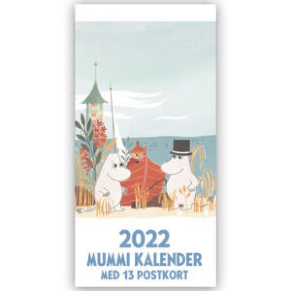 Mummi Postkortkalender 2022