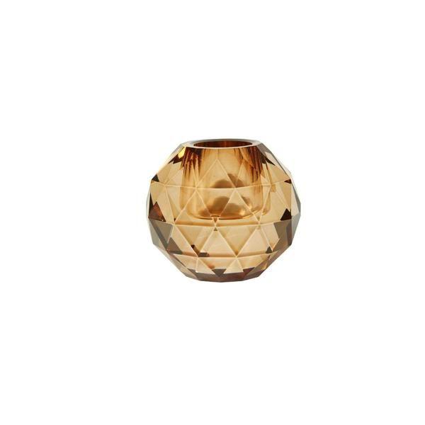 Lysestake diamant liten - Amber