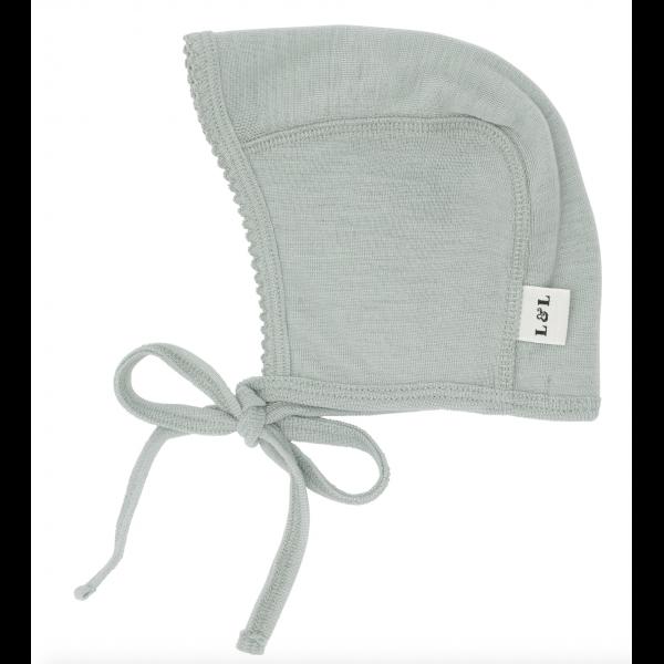 Merino wool Bonnet - Sea green