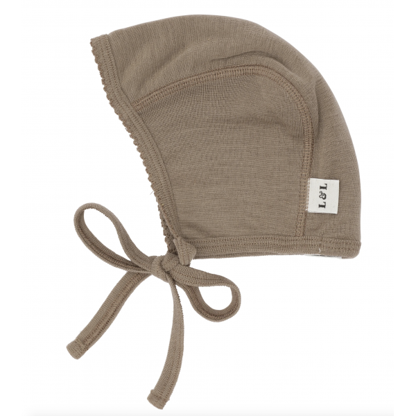 Merino wool Bonnet - Nutmeg
