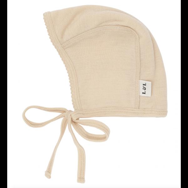 Merino wool Bonnet - Almond