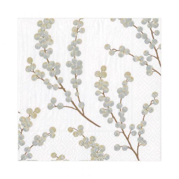 Berry Branches white/silver lunsj