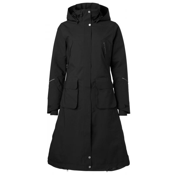 Stierna Winter Coat Svart