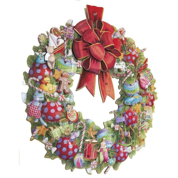 Adventskalender Wreath
