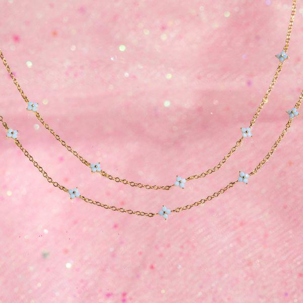 Blue Blossom Love Bracelet