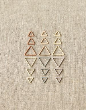 Colorful Triangle Stitchmarkers - CocoKnits