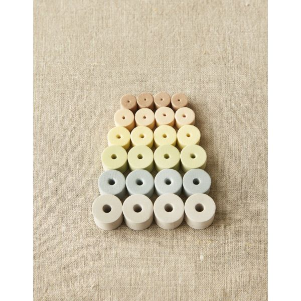 Mixed Stitch Stoppers Earth Tone - CocoKnits