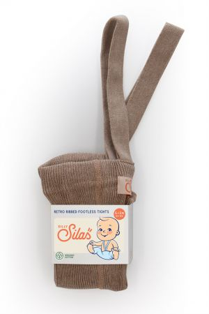 SILLY SILAS - TIGHTS FOOTLESS CACAO BLEND