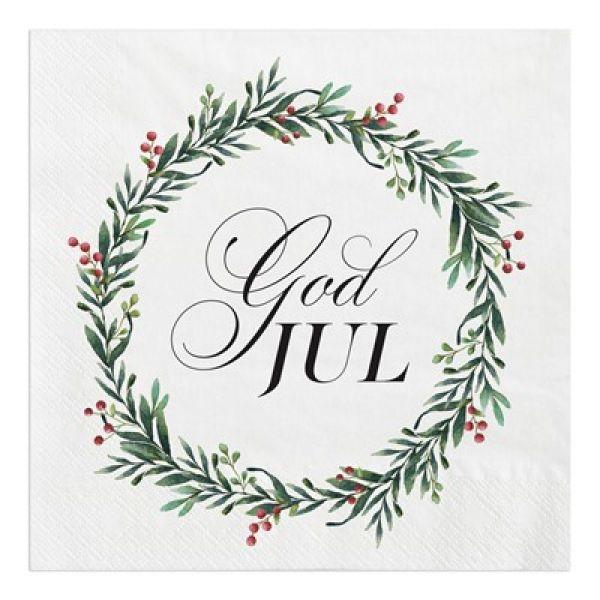 Servietter God jul