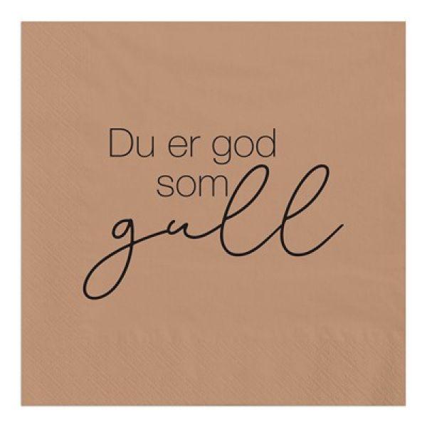 Servietter God som gull