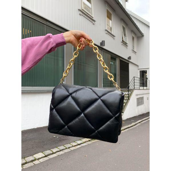 Brynnie Chain Bag - Black