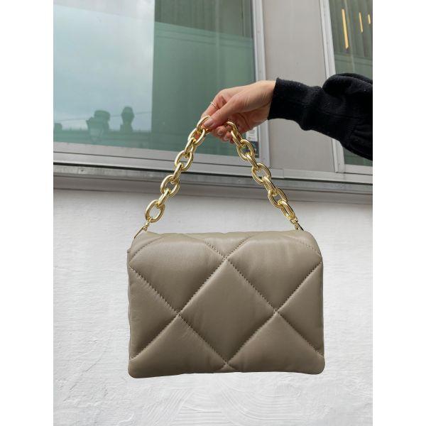 Brynn Chain bag - Sandstone Beige
