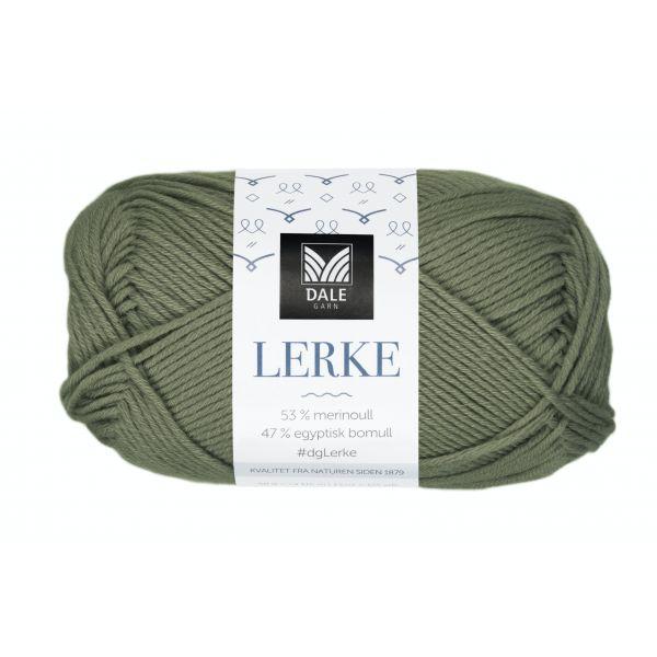 8118 Mørk Oliven - Lerke - Dale Garn
