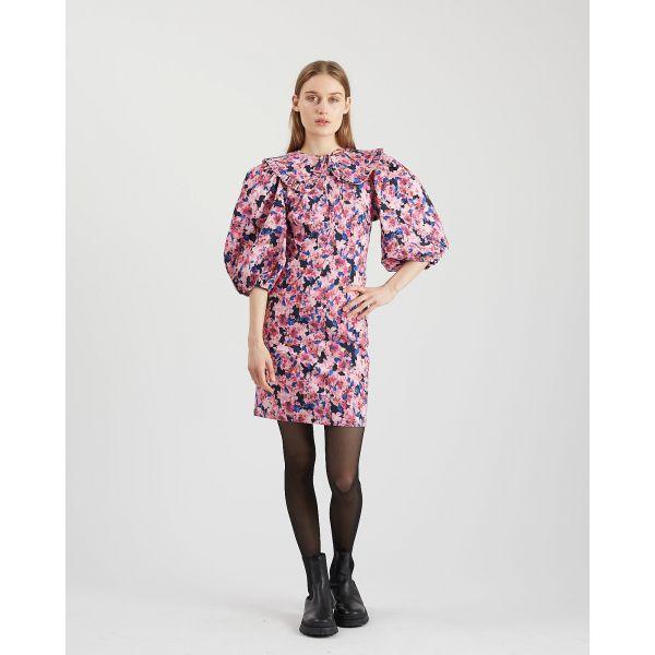 Rou kjole fuchsia purple