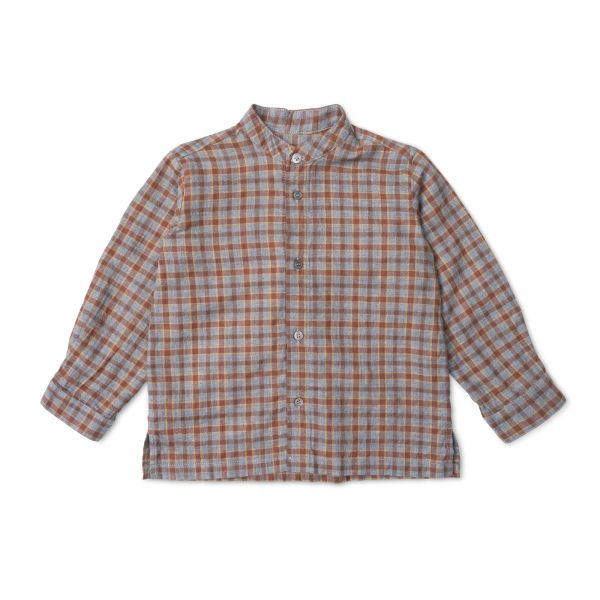 LALABY - WILLY SHIRT GREY CHECK