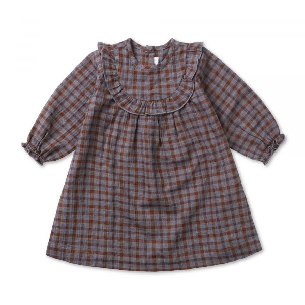LALABY - NOEY DRESS GREY CHECK