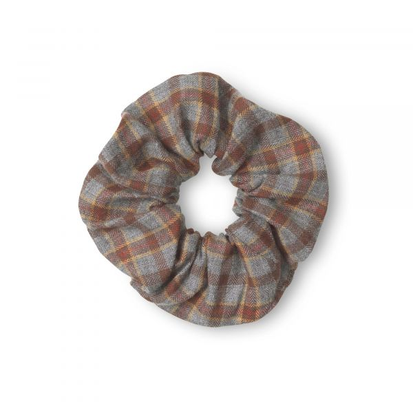 LALABY - SCRUNCHIE GREY CHECK