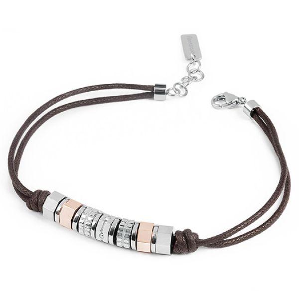 Brosway OCTAGONS Bracelet Brown
