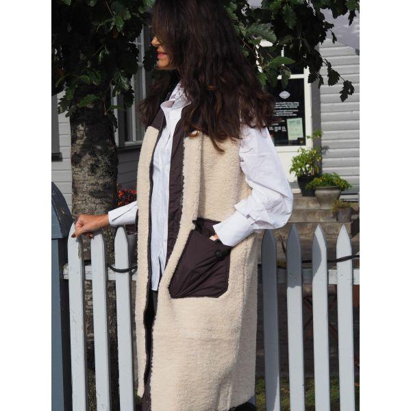 Audrey Fur Mix Vest