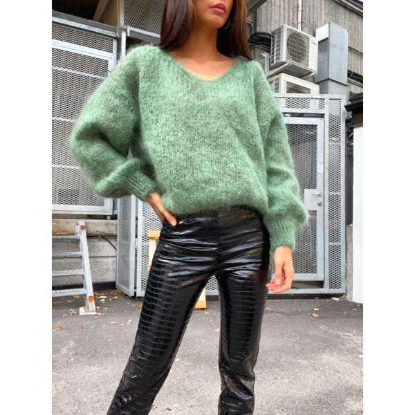 Milana Mohair Knit - Green