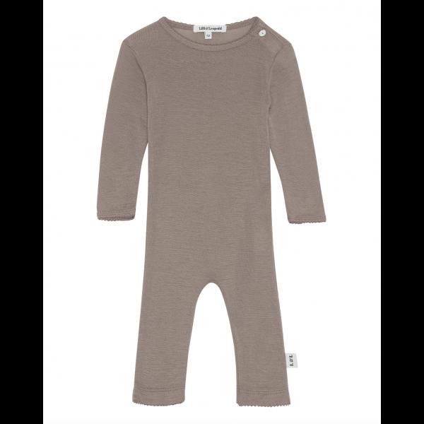 Merino wool Bodysuit - Nutmeg