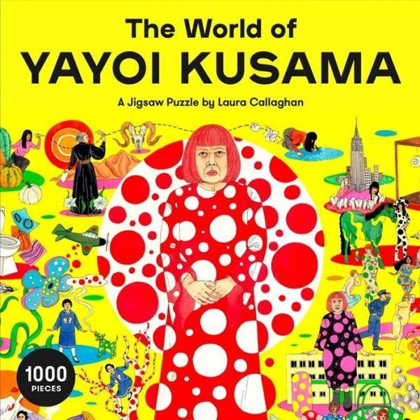 The World of Yayoi Kusama: A Jigsaw Puzzle