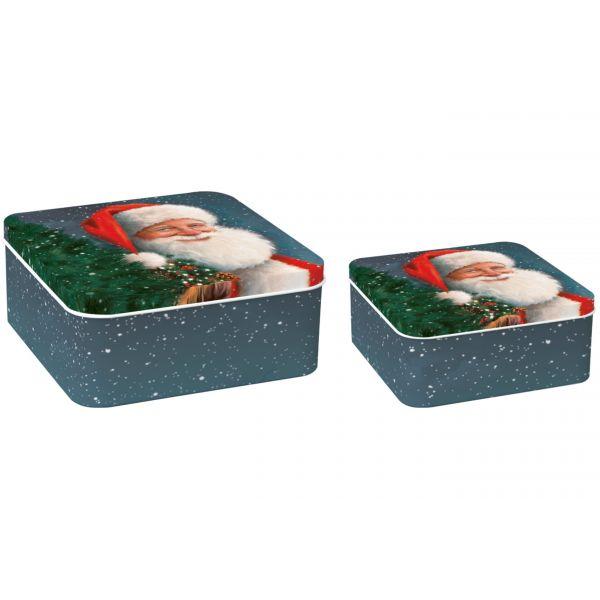 "Kakeboks ""Santa Is Waiting For Christmas"""