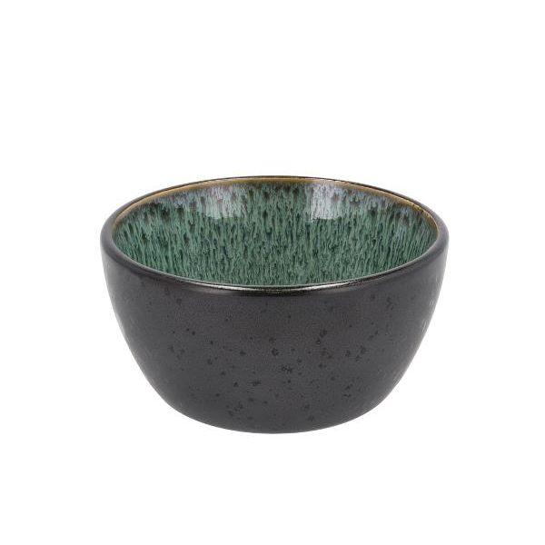 Keramikkbolle grønn/svart
