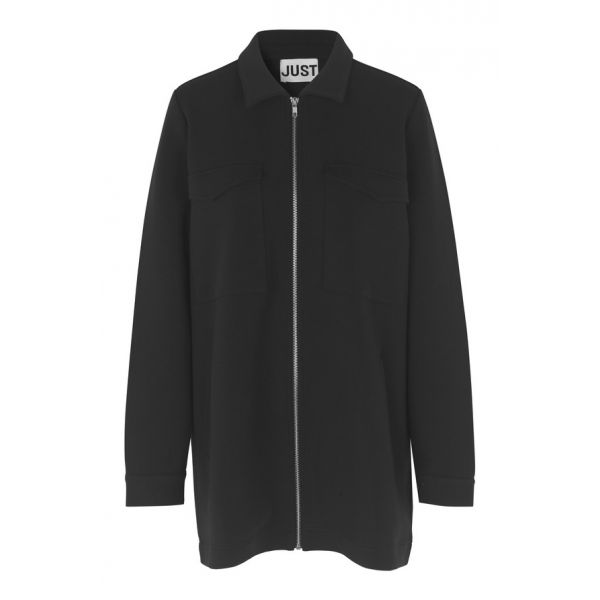 Klara Sweat Jacket, Black