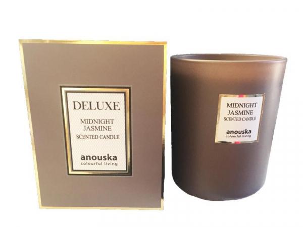 Deluxe duftlys L Midnight jasmine