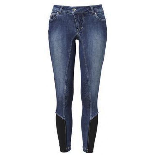Jamie Denim Breeches MH Grip Technology HF