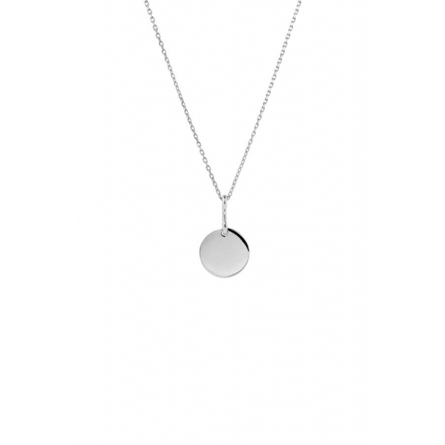 BELL NECKLACE 65 CM - SILVER