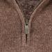 (497) Cashmeregenser med zip for herre