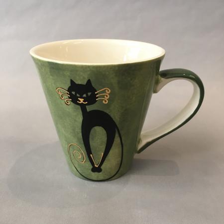 Mitsy kattekopp grønn 0,25 l