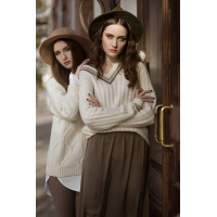 LIMITED COLLECTION Cashmere Cabel genser for dame og herre