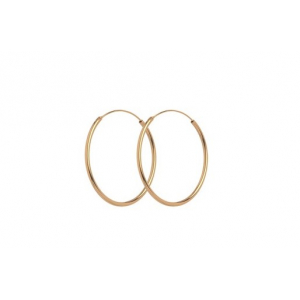 Plain Hoops 30mm øreringer