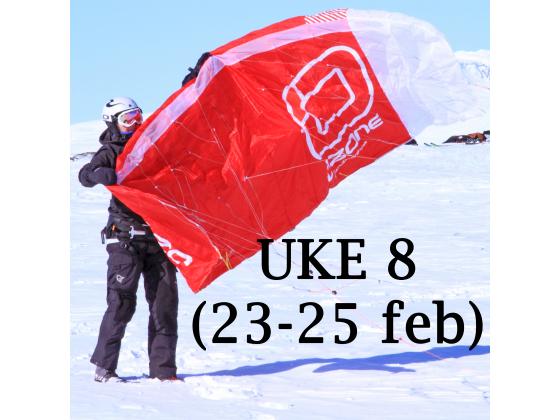 Haugastøl - Uke 8 (23-25 feb)