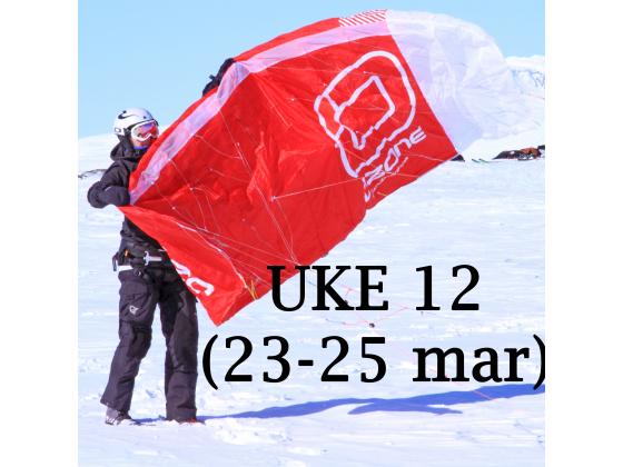 Haugastøl - Uke 12 (23-25 mar)